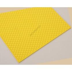 Dekoráló lap, hullám, 360x160 mm, szilikon