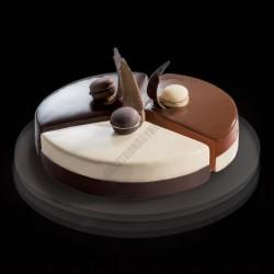 Cake Idea 3 részes sütőkeret, Trilogy 22, rozsdamentes