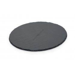 Pala kínálótál, kerek, 38 cm, 6 mm vastag