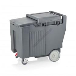 Jégszállító kocsi, 110 l, 79x60x74 cm