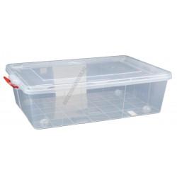 Uzsonnás doboz 38 liter átlátszó fedővel