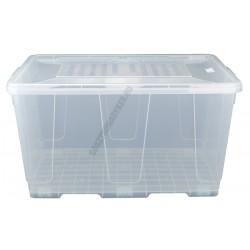 Uzsonnás doboz 80 liter átlátszó fedővel