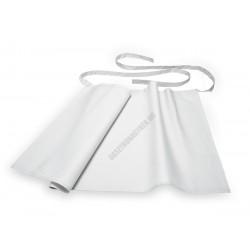 Bár kötény, 95x50 cm, fehér, pamut