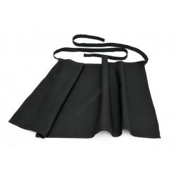 Bár kötény, 95x100 cm, fekete, pamut