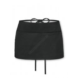 Bár kötény, 53x30 cm, fekete