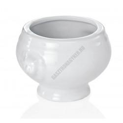 Oroszlánfejes mini levestál, 50 ml, porcelán