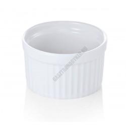 Ramekin szufléforma, 9x4,5 cm, porcelán, sorolható