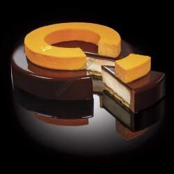 Cake Idea 3 részes sütőkeret, kerek, 180-160-140 mm, rozsdamentes