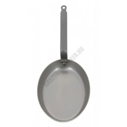Vasserpenyő, ovális halsütő, 32x22,5 cm, Carbone Plus, de Buyer