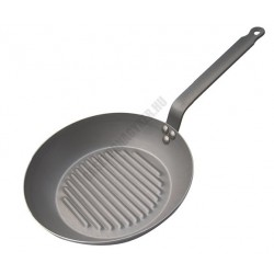Vasserpenyő, grill serpenyő, 30 cm, Carbone Plus, de Buyer