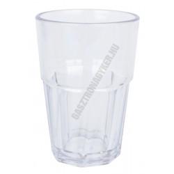 Polikarbonát pohár 300 ml, törhetetlen