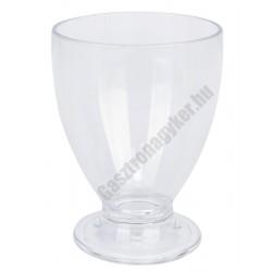 Polikarbonát pohár juice 2,95 dl, törhetetlen