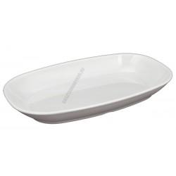 Ovális sültes tál, 29 cm, polikarbonát