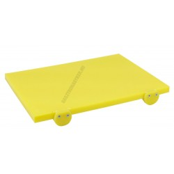 Vágólap füllel 40×30×2 cm sárga