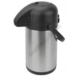 Pumpás termosz rozsdamentes 1,9 liter, 15×33 cm