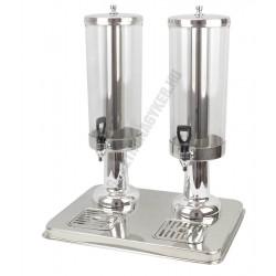 Juice adagoló dupla 40x30x52cm rm.