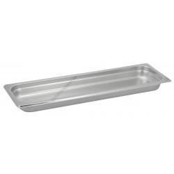 GN edény 2/4 40 mm (16,2×53×4 cm) 2 liter rozsdamentes