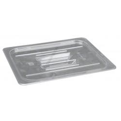 Polikarbonát 1/2 GN edény fedő (26,5×32,5 cm) átlátszó