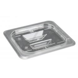 Polikarbonát 1/6 GN edény fedő (16,2×17,6 cm), átlátszó