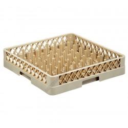 Mosogatórekesz tányéroknak, 50x50x8,7 cm