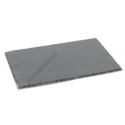 Sajttálaló 32×18 cm, szögletes, fekete pala