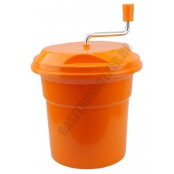 Salátacentrifuga 12 literes narancssárga műa.