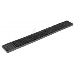 Bár gumi munkalap 68x8,5cm fekete