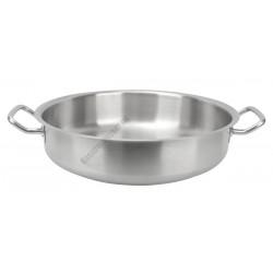 Bécsiszelet-sütő 40 cm rozsdamentes