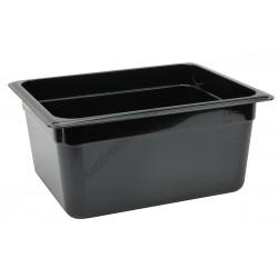 Polikarbonát Gn edény 1/2 150 mm, fekete