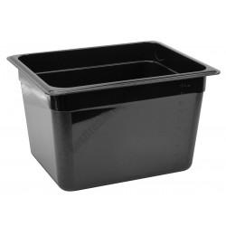 Polikarbonát Gn edény 1/2 200 mm, fekete