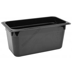 Polikarbonát Gn edény 1/3 150 mm, fekete