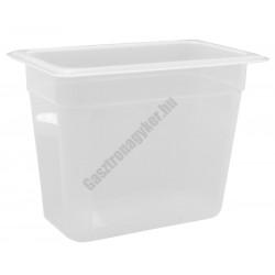Polipropilén Gn edény 1/4 200 mm (16,2×26,5×20 cm) 5 liter