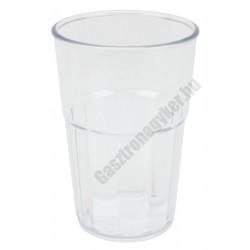 Polikarbonát pohár 300ml átlátszó
