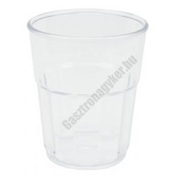 Polkarbonát pohár 400ml átlátszó