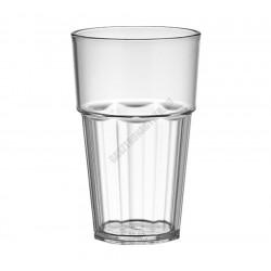 Polikarbonát pohár, 300 ml, átlátszó, Kasablanka