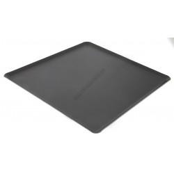 Sütőlemez, 35×32 cm, 45 fok felhajtás, tapadásmentes alumínium, de Buyer