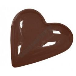 Valentin napi csokoládéforma (90-1001), kicsi szív, 18 adag, műanyag