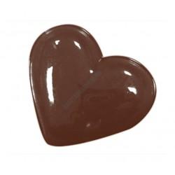 Valentin napi csokoládéforma (90-1027), szív, 14 adag, műanyag