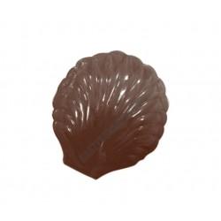 Figurás díszítő csokoládéforma (90-12869), kagyló, 2 adag, műanyag