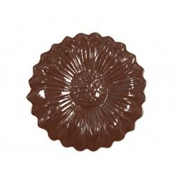 Figurás díszítő csokoládéforma (90-13019), virág, 11 adag, műanyag