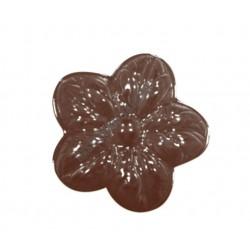 Figurás díszítő csokoládéforma (90-13026), virág, 11 adag, műanyag