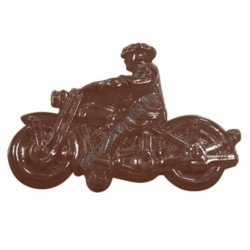 Figurás díszítő csokoládéforma (90-15391), motor, 2 adag, műanyag