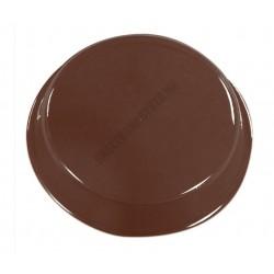 Figurás díszítő csokoládéforma (90-5022), kör, 11 adag, műanyag