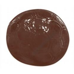 Figurás díszítő csokoládéforma (90-6008), focilabda, 10 adag, műanyag