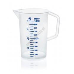 Mérőkancsó, 0,5 l, kék skála, polipropilén