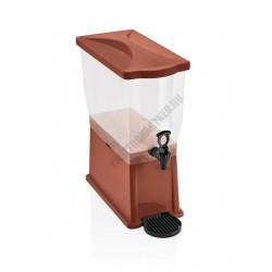 Juice adagoló, 14 l tartály, barna, polipropilén