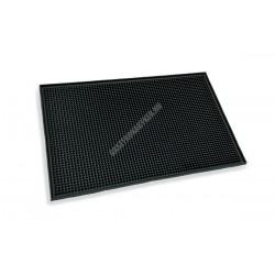 Bár gumi munkalap, 45x30x1 cm, fekete