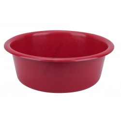 Peremes tál 30 cm 5 liter piros