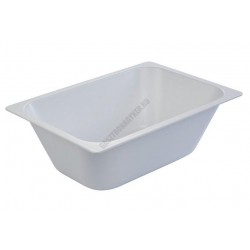 Fagylalttégely, 36x25x12 cm, 5,8 l, fehér, műanyag