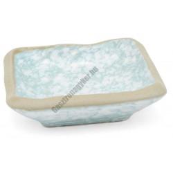 Acquac négyszögletes tányér, 9 cm, kőporcelán